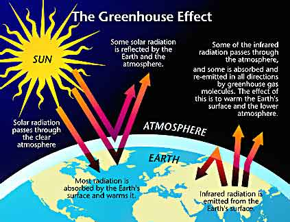 An introduction to the issue of the greenhouse effect
